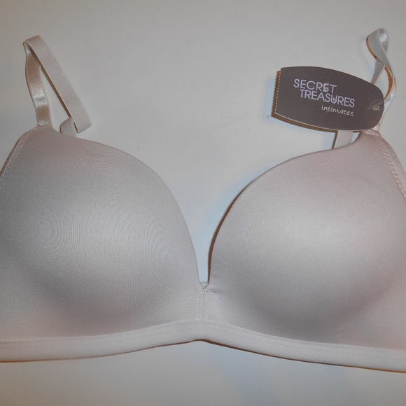01a737028643b1 NWT Secret Treasures Nonwire Push-Up 34B